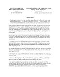 Thông báo số 4074/TB-BNN-VP
