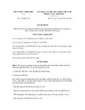 Quyết định số 1136/QĐ-TTg