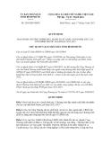 Quyết định số 1638/QĐ-UBND