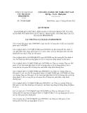 Quyết định số 170/QĐ-HQBP