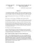 Thông tư số 24/2012/TT-NHNN