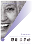 Brachytherapy: The precise answer for tackling gynecological cancers