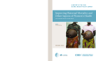 IMPROVING MATERNAL MORTALITY AND OTHER ASPECTS OF WOMEN'S HEALTH
