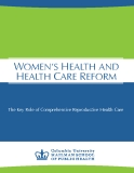 WOMEN'S HEALTH AND HEALTH CARE REFORM