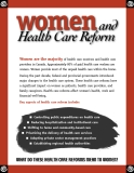 Women and Health Care Reform