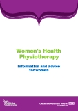 Women's Health Physiotherapy Information and advice for women