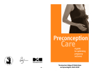 Preconception Care: A guide for optimizing  pregnancy outcomes