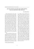 """Báo cáo """" Quy hoạch đất đai với việc bảo vệ môi trường tại làng nghề nông thôn Việt Nam """""""