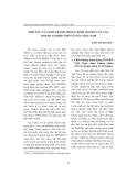 """Báo cáo """"  Hợp tác và cạnh tranh trong kinh doanh của các Doanh Nghiệp Nhỏ và Vừa Việt nam """""""