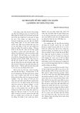 """Báo cáo """"Sự thay đổi về thu nhập của người lao động dư thừa ở Hà nội"""""""