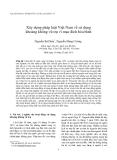 """Báo cáo """" Xây dựng pháp luật Việt Nam về sử dụng khoảng không vũ trụ vì mục đích hòa bình """""""