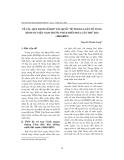 """Báo cáo """" Về các quy định về hợp tác quốc tế trong luật tố Tụng hình sự Việt Nam trước pháp điển hóa lần thứ hai (1945-2003) """""""