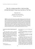 """Báo cáo """" Nhu cầu và những quan điểm cơ bản hoàn thiện chế định hình phạt bổ sung trong Luật hình sự Việt Nam"""""""