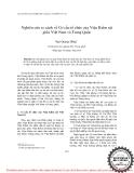 """Báo cáo """" Nghiên cứu so sánh về Cơ cấu tổ chức của Viện Kiểm sát giữa Việt Nam và Trung Quốc"""""""