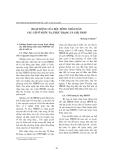 """Báo cáo """" Hoạt động của Hội đồng nhân dân các cấp ở nước ta, thực trạng và giải pháp Hoàng Sĩ Hạnh(*) """""""