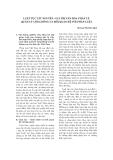 """Báo cáo """" luật tục Tây Nguyên - giá trị văn hóa pháp lý, quarn lý cộng đồng và mối quan hệ với pháp luật """""""