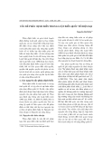 """Báo cáo """" Vấn đề phân định biển trong luật biển quốc tế hiện đại """""""