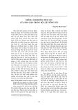 """Báo cáo """" Những ảnh hưởng tích cực của Nho giáo trong Bộ luật Hồng Đức """""""