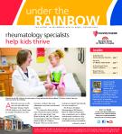 Rheumatology specialists  help kids thrive