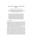 Hybrid Control Design for a Wheeled Mobile RobotThomas Bak 1