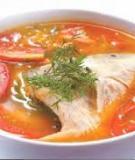 Cá điêu hồng nấu riêu
