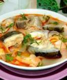 Cá lóc nấu măng chua
