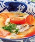 Đầu cá thu nấu mẻ