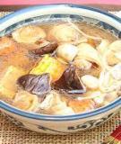 Mì căn nấu súp bổ dưỡng