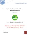 Tiểu luận:Chẩn đoán bệnh lở mồm long móng (FMD)