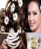 Tác dụng của dầu dừa đối với tóc