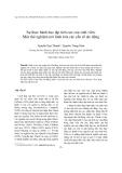 """Báo cáo """"  Sự thực hành học tập tích cực của sinh viên: Một thử nghiệm mô hình hóa các yếu tố tác động """""""