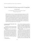 """Báo cáo """" Vài nét về hình ảnh Việt Nam trong sử sách cổ Trung Quốc """""""