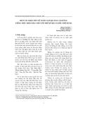 """Báo cáo """" Một vài nhận xét về ngôn ngữ quảng cáo bằng tiếng Việt trên báo chí cuối thế kỷ XIX và đầu thế kỷ XX """""""