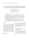 """Báo cáo """"  Vai trò của Trung tâm Thông tin - Thư viện trong việc đáp ứng phương thức đào tạo tín chỉ của Đại học Quốc gia Hà Nội """""""