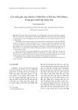 """Báo cáo """"Cải cách giáo dục đại học Nhật Bản và Đại học Hiroshima trong quá trình tập đoàn hóa """""""