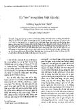 """Báo cáo """" Từ """"bèn"""" trong tiếng Việt hiện đại """""""