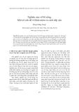 """Báo cáo """"  Nghiên cứu về lối sống: Một số vấn đề về khái niệm và cách tiếp cận """""""