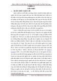 Đề tài: Hành vi đầu tư và tiết kiệm của hộ gia đình huyện Tam Bình Vĩnh Long