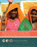 Minimum Initial Service Package (MISP) for Reproductive Health in Crisis Situations: A Distance Learning Module
