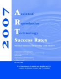 National Summary and Fertility Clinic Reports 2007