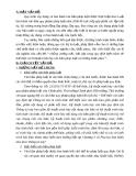 Đề tài: Những vướng mắc, bất cập trong quy định hiện hành về thể thức và kĩ thuật trình bày văn bản pháp luật và hướng khắc phục