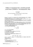"Báo cáo "" Method of sedimentary basin reconstruction and compilation of lithofacies - paleogeographic maps """