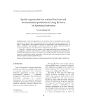"Báo cáo ""  Spatial organization for rational land use and environmental protection in Uong Bi Town by functional sub-areas"""