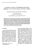 """Báo cáo """" A method to construct flood damage map with an application to Huong River basin, in Central Vietnam"""""""