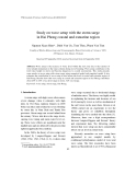 "Báo cáo "" Study on wave setup with the storm surge in Hai Phong coastal and estuarine region """