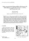 """Báo cáo """" Study on geotechnical characteristics of Holocene soils with reference to geohazards in Kien An - Do Son, Hai Phong coastal zone"""""""