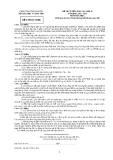 ĐỀ THI TUYỂN SINH VÀO LỚP 10 NĂM HỌC 2012 - 2013 MÔN HÓA HỌC TỈNH THÁI NGUYÊN