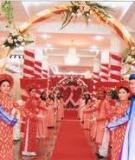 Nghề tổ chức lễ cưới