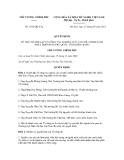 Quyết định số 1392/QĐ-TTg