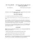 Quyết định số 1224/QĐ-TTg
